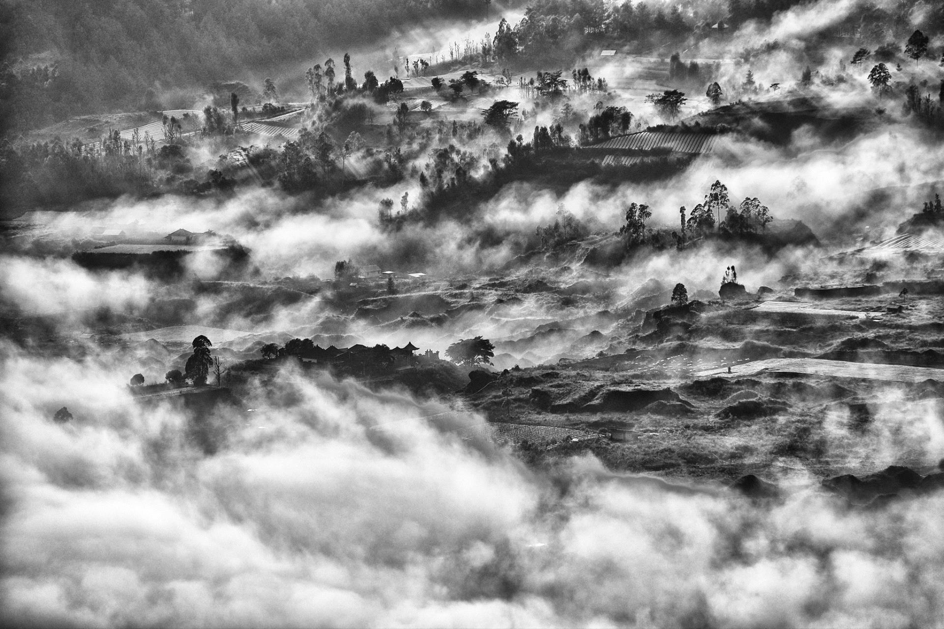DIPA Merit Award - Teck Boon Lim (Singapore)  Bali Clouds Disperse One