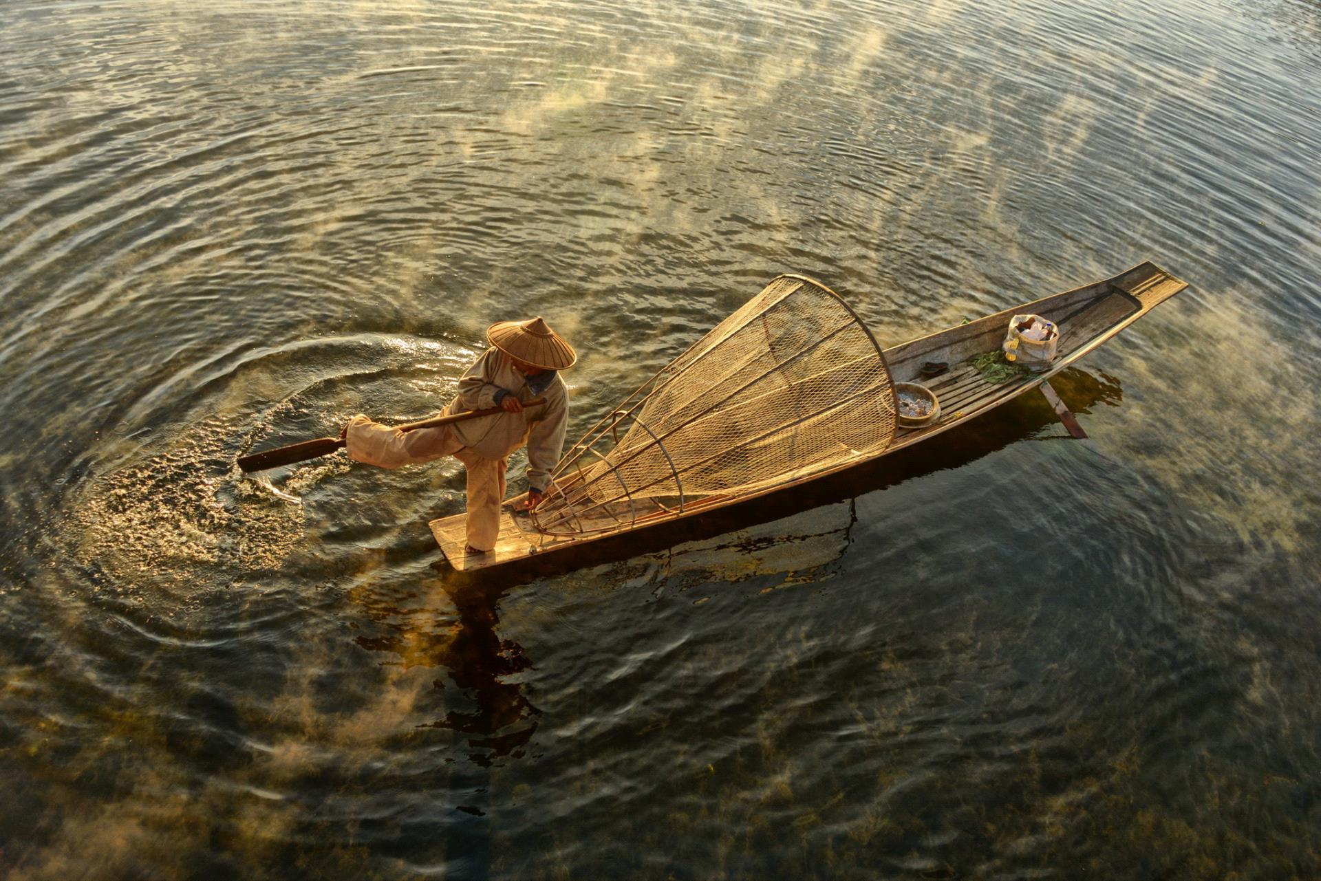 DIPA Merit Award - Teck Boon Lim (Singapore)  Foot Paddle