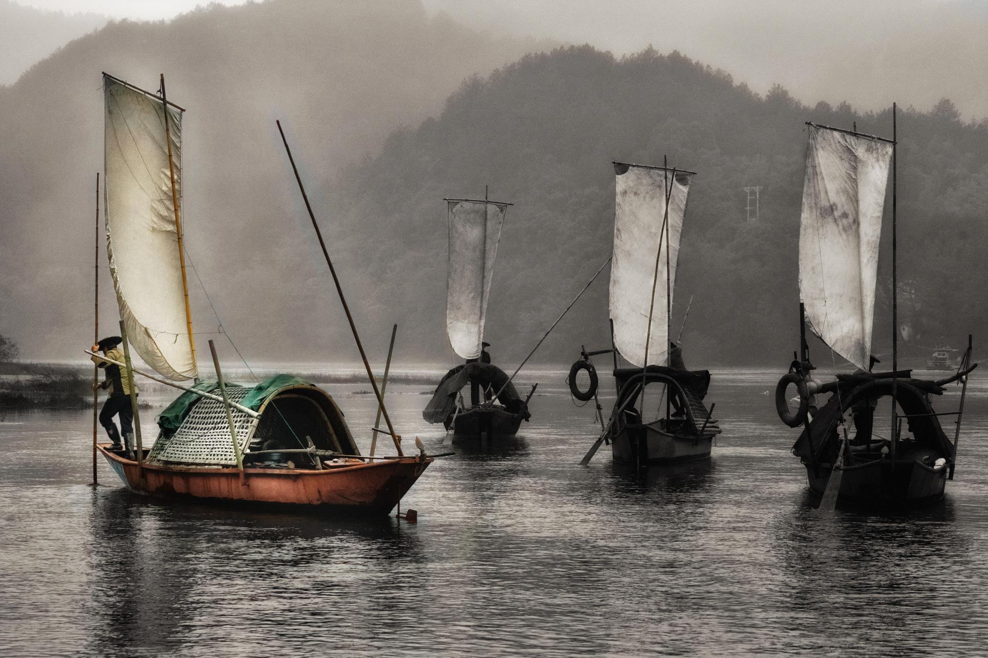 DIPA Merit Award - Twee Liang Wong (Singapore) <br /> Lishui Boats