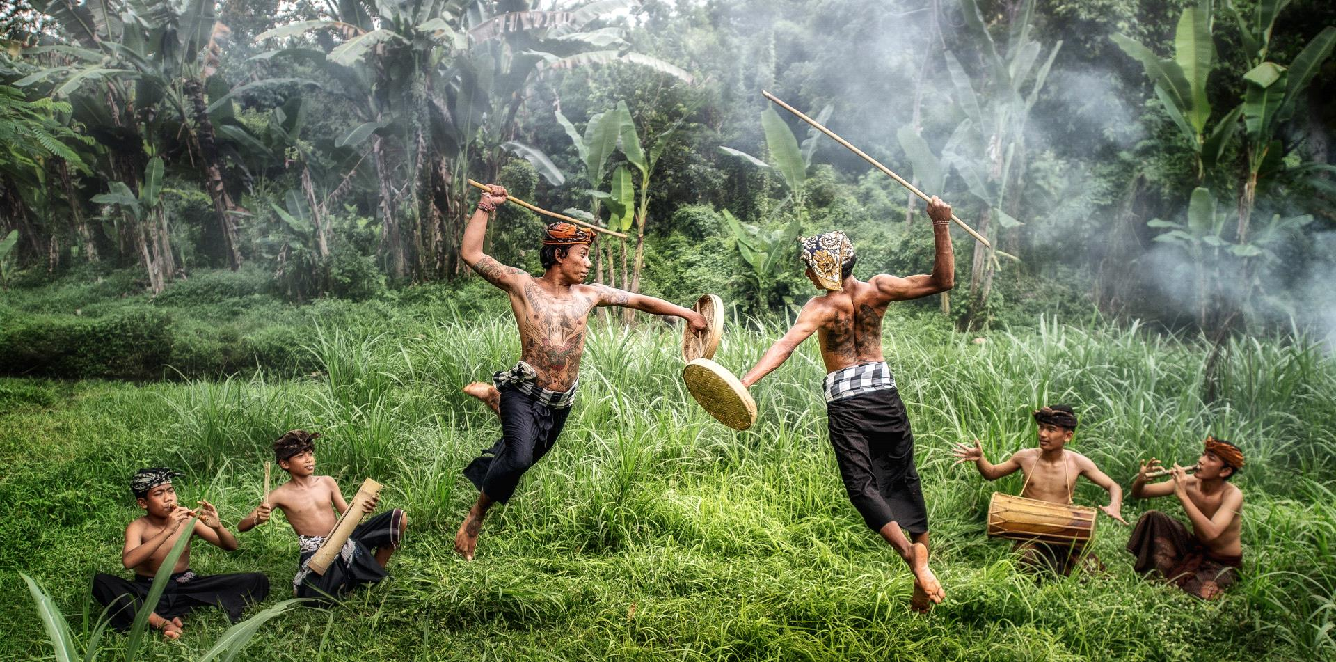 PhotoVivo Honor Mention - Sze-Wah Chee (Singapore)  Klung Klung Fighters