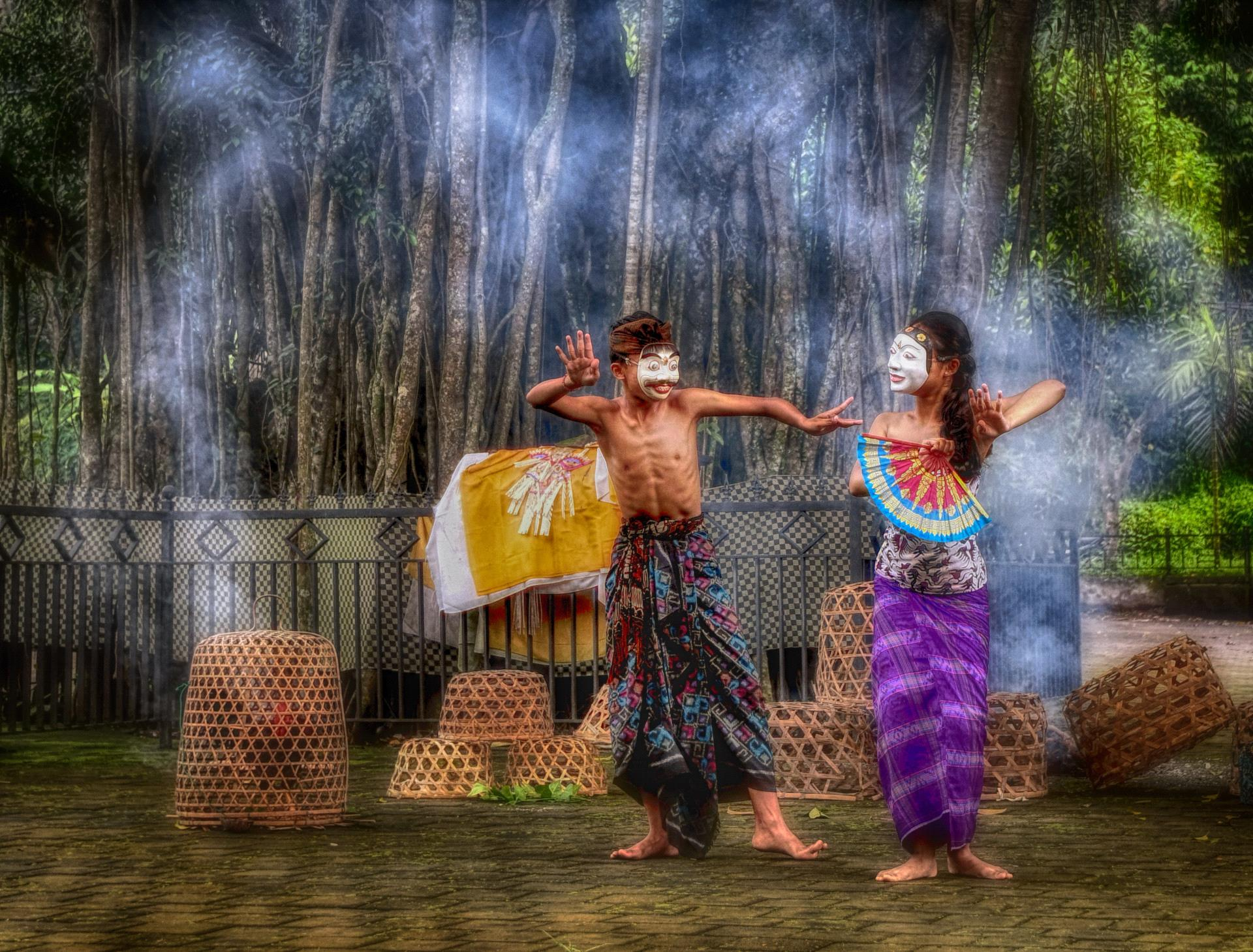 DIPA Merit Award - Lee-Eng Tan (Singapore)  Bali Masked Dance