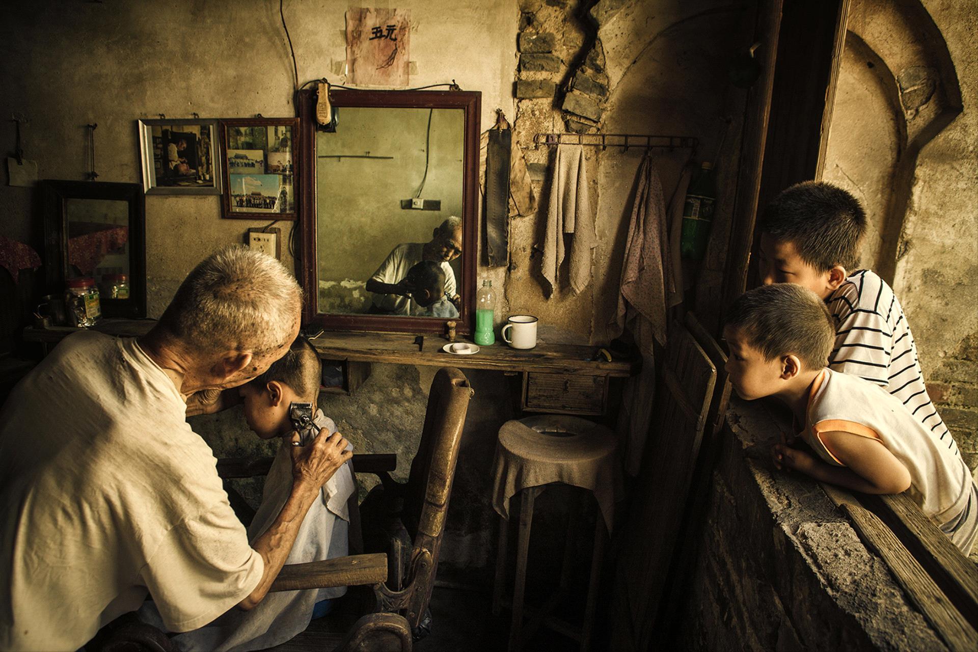 IUP HM - Hong Li (China)  Village Barbershop