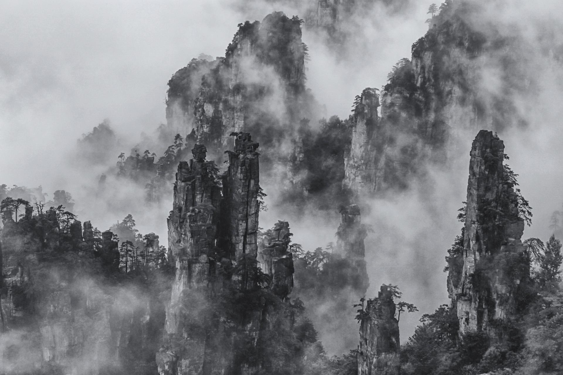 RPS Ribbons - Jingrong Xu (China)  Peaks With Clouds