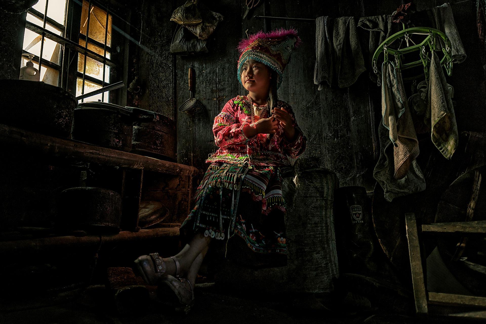 DIPA Merit Award - Minglei Nong (China)  The Dressed Girl