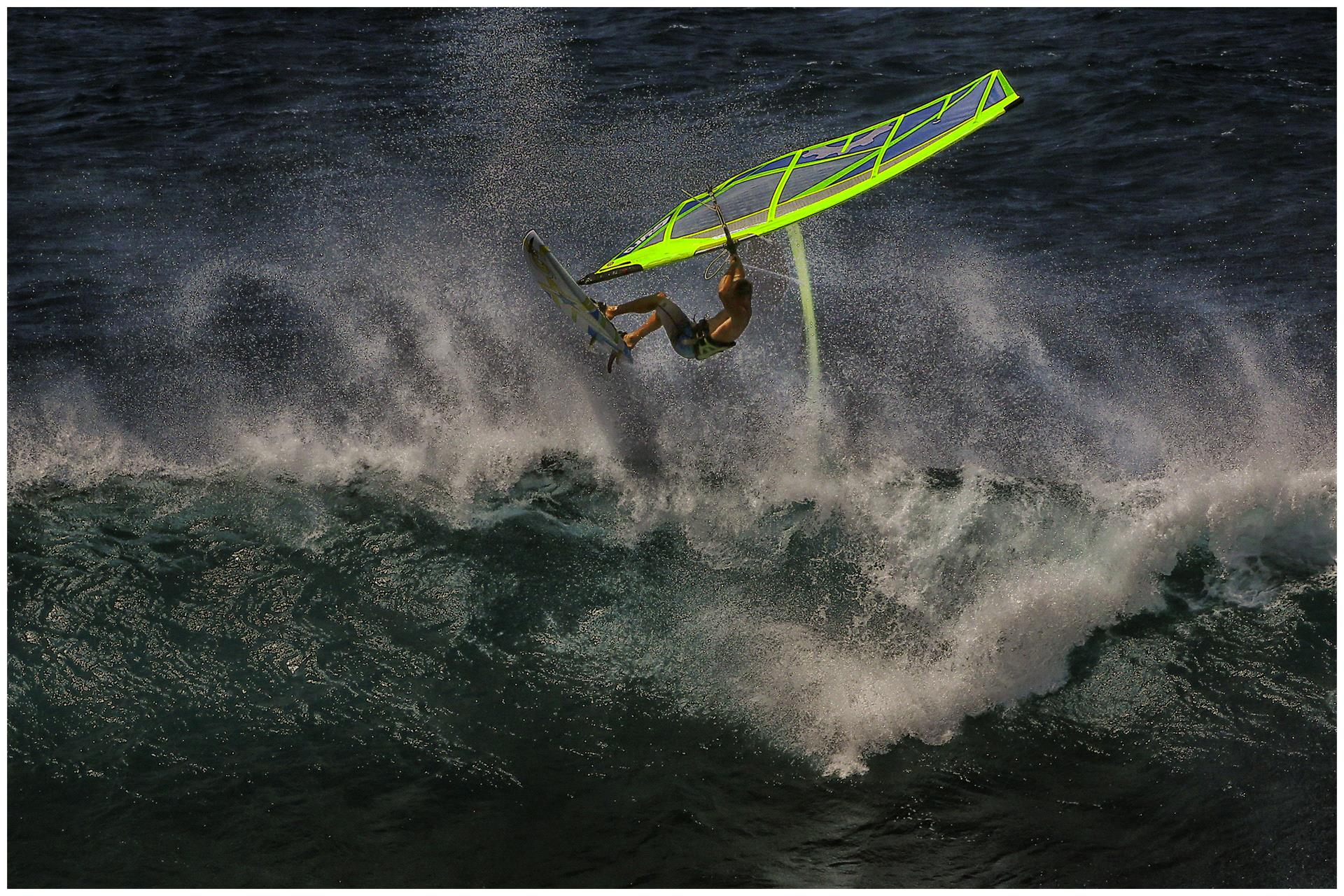 DIPA Merit Award - Thomas Lang (USA)  Windsurfer Falling Turn