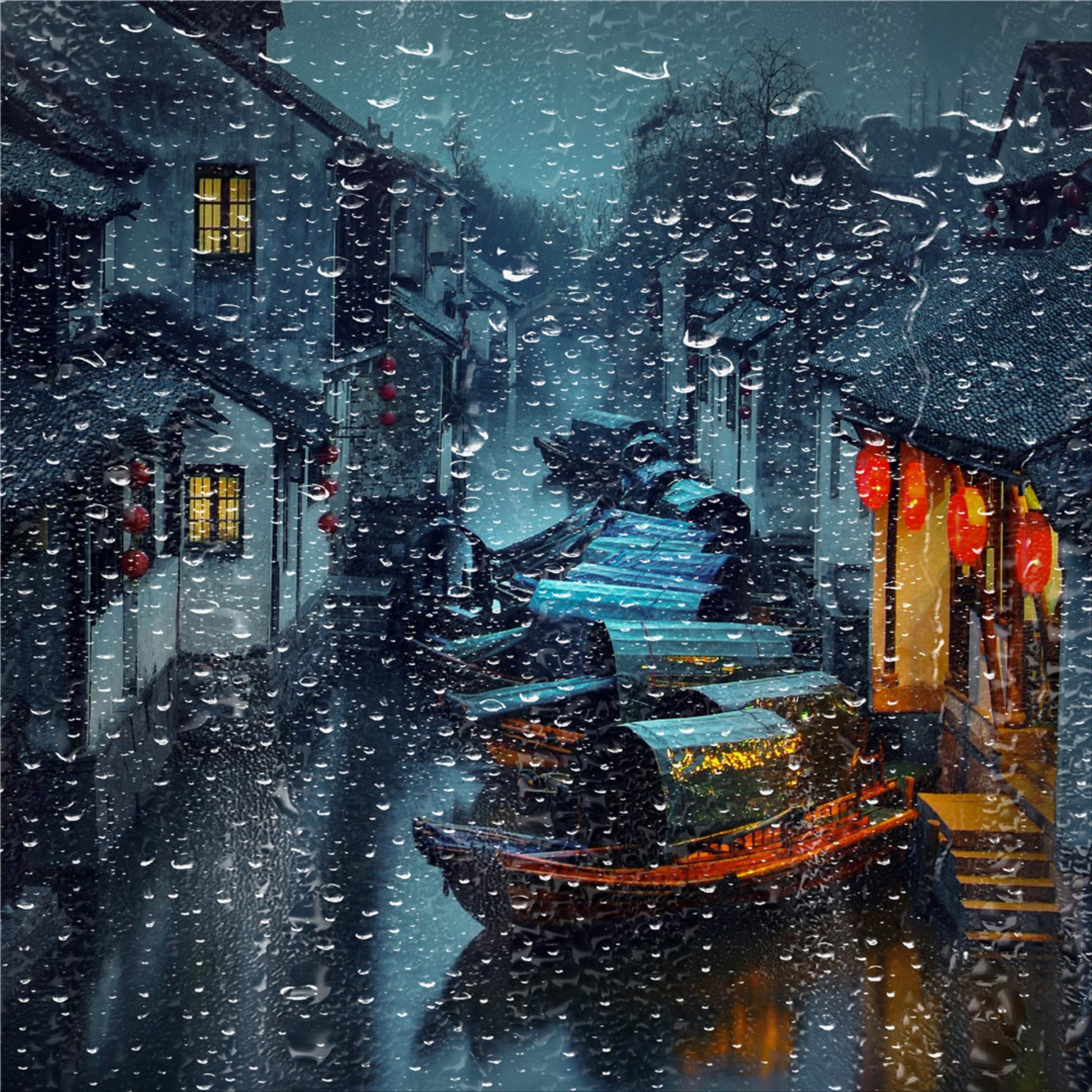 RPS Gold Medal - Ruiyuan Chen (China)  Rain In  Jiangnan