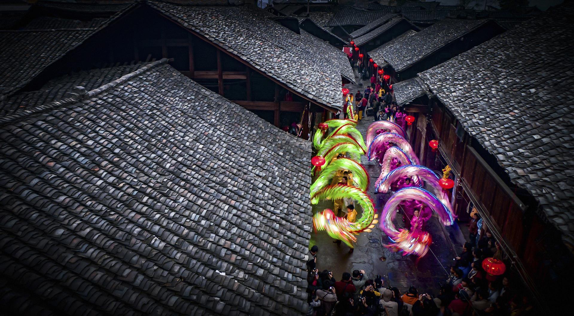 PSA HM Ribbons - Shenghua Yang (China)  Old Street In Holiday