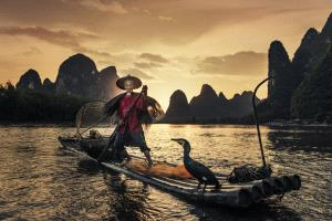 APAS Honor Mention e-certificate - Yi Huang (China)  Fishing Song Of Lijiang 10