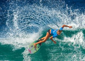 PSA Gold Medal - Xuehai Lu (China) <br /> Surfing Girl