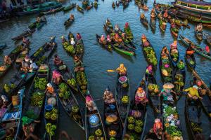 DIPC Gold Medal - Xiaoqing Zhang (China)  Floating Market