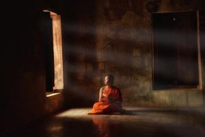 DIPC Merit Award e-certificate - Lee Eng Tan (Singapore) <br /> Monk By Window In Thoughts
