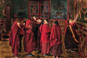 APAS Bronze Medal - Weijing Zhang (China)  Little Monks