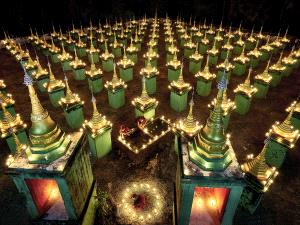 APAS Gold Medal - Thi Ha Maung (Myanmar)  Light Festival