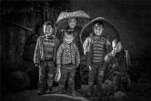 APAS Silver Medal - Peiwang Huang (China)  Children In The Mountains